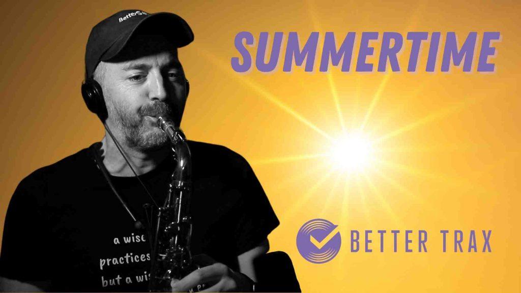 Summertime Backing Track