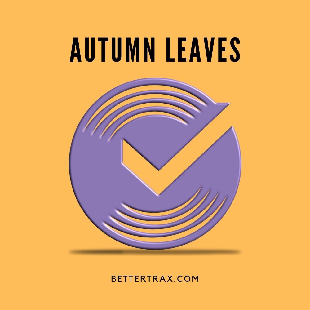 Autumn Leaves backing track