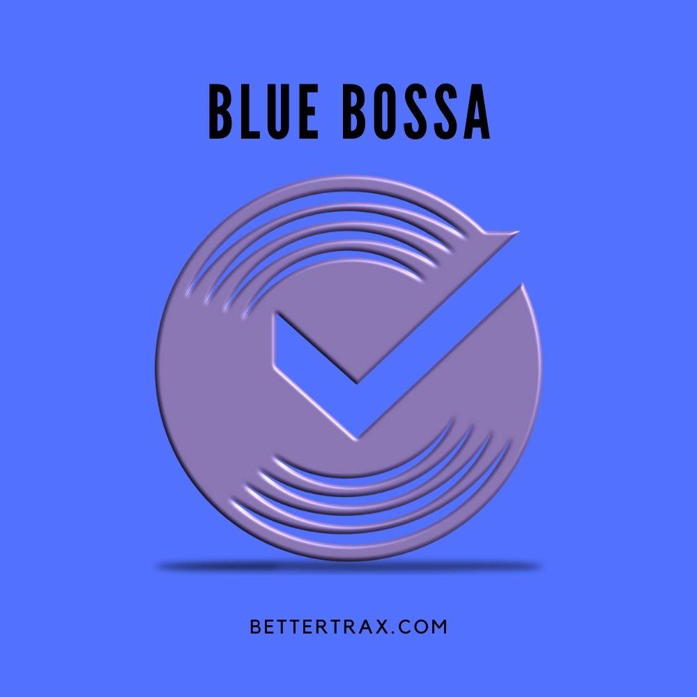 Blue Bossa - backing track